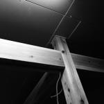 和のフレンチバル村塾 ー 柱と梁