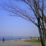 膳所 石場 琵琶湖!