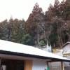 雪積もってます@京丹波