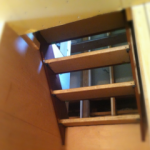 階段かかりました!