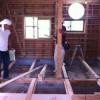 解体から木工事へ