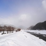 可能性を探す、雪の新庄村。