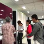 ショールームへ。 ー  香芝市白鳳台木造戸建て住宅の耐震リフォーム