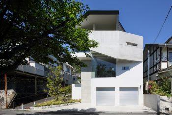 【設計実績】RC造二階建て新築住宅-滋賀県